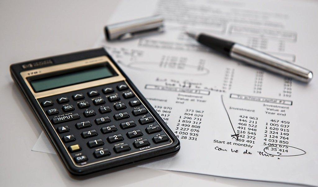 Calculadoras comerciales para los negocios