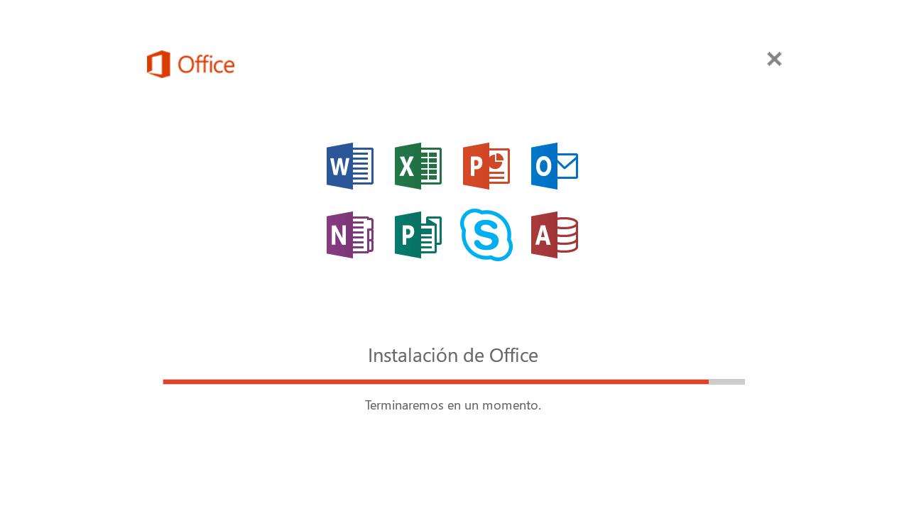 Instalar office en Windows