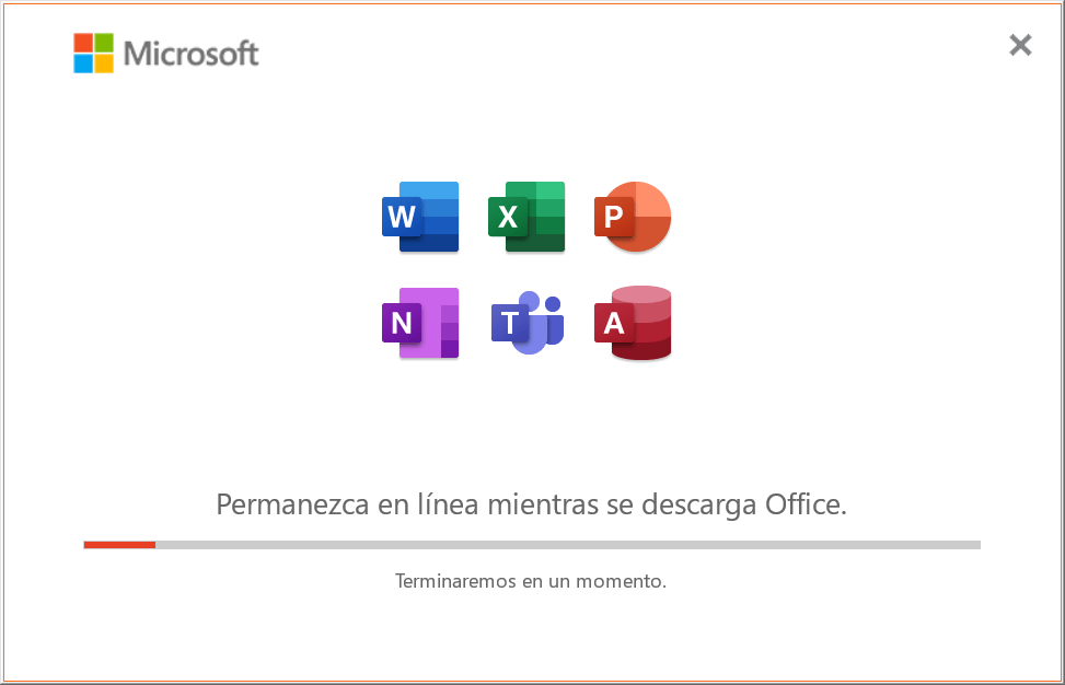 Instalación de Office