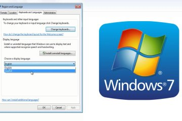 cambiar idioma windows 7 español