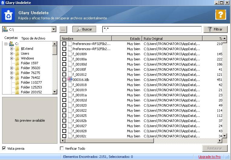 Glarysoft File Recovery Free