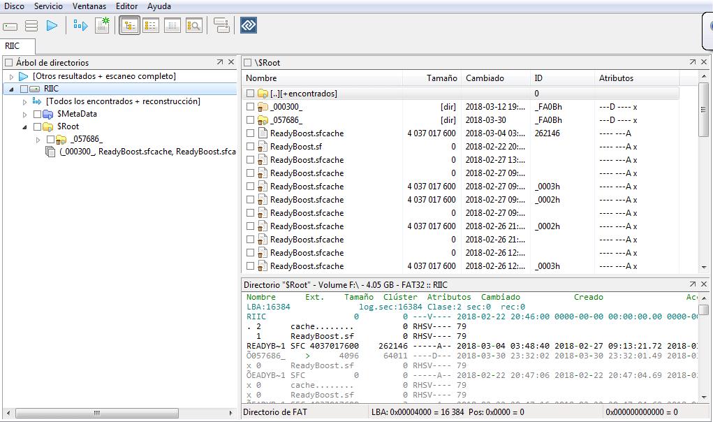 DMDE recuperar archivos
