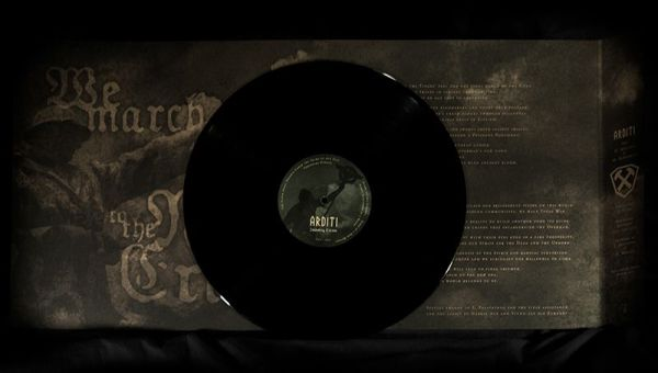 Imposing Elitism Black LP - Interior and vinyl