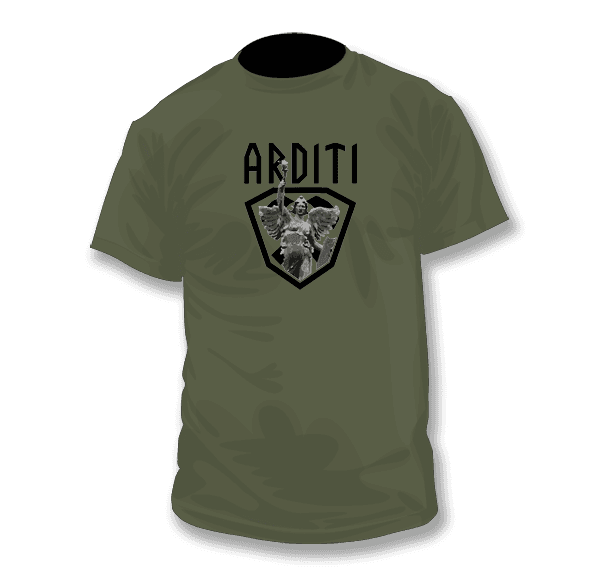 ARDITI - Standards of Triumph T-shirt, Front Print