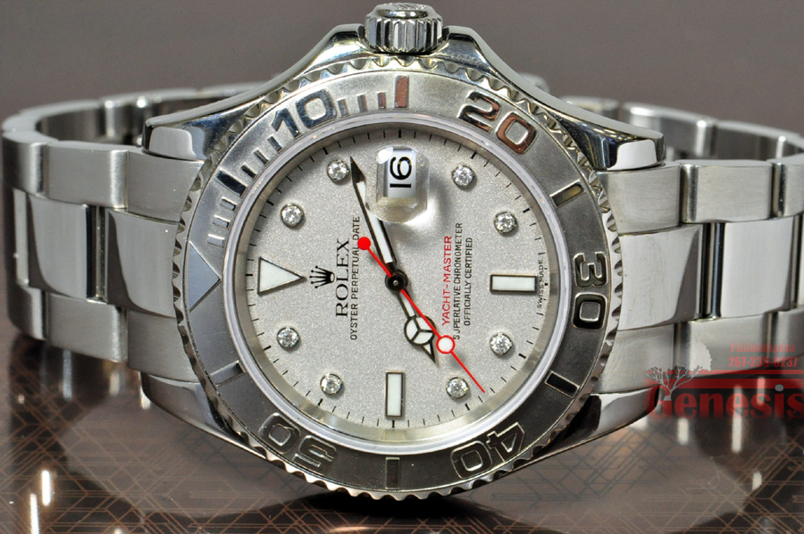Rolex Yachtmaster Platinum And Steel Buy Pawn Sell