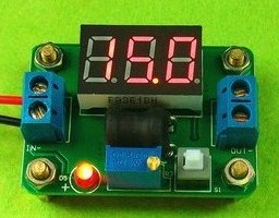 Efficient synchronous rectification DC-DC Regolatore con un Voltaggio meter to 4.5-24V super LM2596