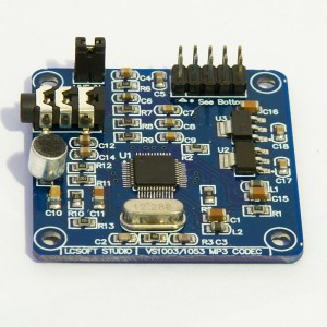 VS1053 Modulo VS1053 MP3 Modulo, Scheda di Sviluppo (on-board Registrazione function)