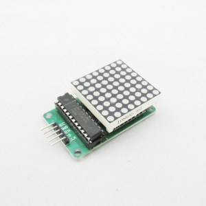 MAX7219 dot matrix Modulo, the Arduino control Modulo, microcontroller Modulo, display Modulo