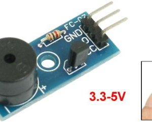 The active buzzer Modulo, trigger low, buzzer control panel