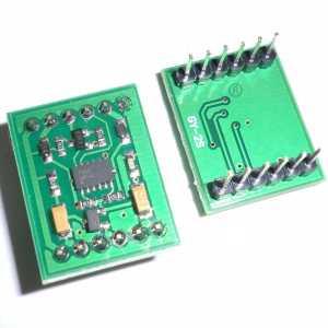 MMA7455 Accelerometro 3 Assi Sensore Modulo Digitale accelerometer module