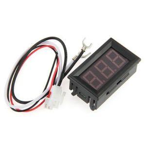 YS-DYB 4.5-30V two-wire, Motorecycle Batteria car Elettrico car vehicles, Digitale display / Digitale Voltmetro head