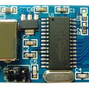 CH375 Modulo lettura scrittura USB FAT16 FAT32 per Arduino