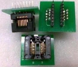 SOP16 to DIP16 narrow-body (Remarks the plastic width 3.81), IC test socket, burn Block
