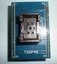 TSOP48 to DIP48, Conversion Block (Pitch 0.5mm), IC test socket Adattatore, Adattatore seat