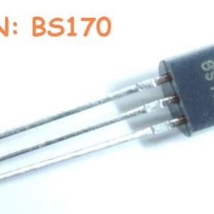 6 Pezzi BS170 IC Circuiti Integrati