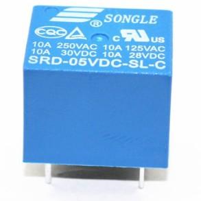 Relè T73 SRD-5VDC-SL-C 5V10A 5pins