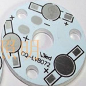 4 Pezzi 3 * 1 w Alluminio plate