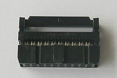 2 Pezzi 20 Position 2.54MM Pitch Femmina IDC Socket Flat Ribbon Cavo Connettore FC-20P