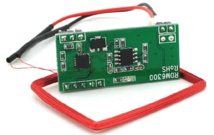 Arduino 125K RFID Card Lettore Modulo RDM6300 ID RF Modulo UART Output
