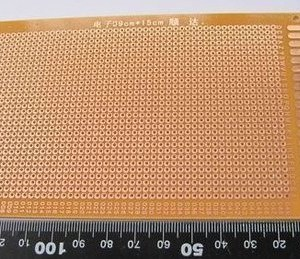 13*25CM Universal Single Side Copper Panel Prototipo PCB Board