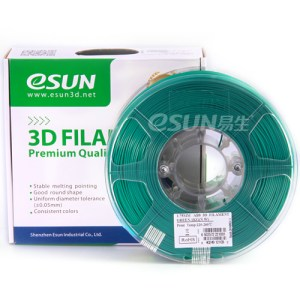 Filamento ABS 1.75mm 1KG Verde ESUN HIGH QUALITY GARANTITA SU MAKERBOT, MULTIMAKER, ULTIMAKER, REPRAP, PRUSA