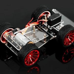 4WD Car Telaio With Servo Turn