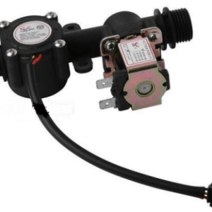 G1/2 YF-201S Acqua Sensore With DC12V Valvola Solenoideee