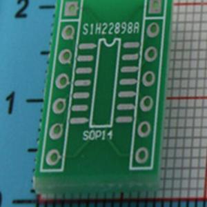 SOP14 to DIP14 PCB Adattatore