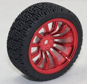 65MM Ruota Red