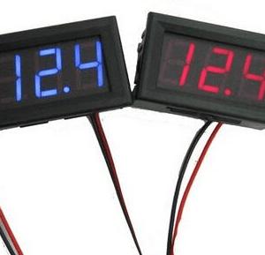 Blue 0.56 inch LED Digitale Voltmetro DC5V-30.0V