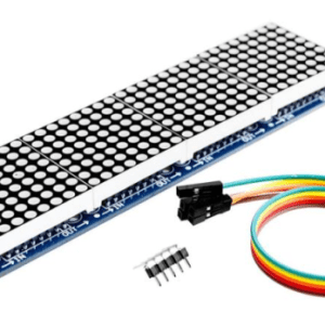 MAX7219 Dot Matrix Modulo per Arduino Microcontroller 4 In 1 Display with 5pin Line