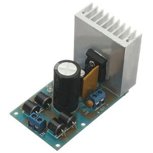 DIY LT1083 Regolabile Regulated Modulo di Alimentazione 7A Resettable Fusibili Kit