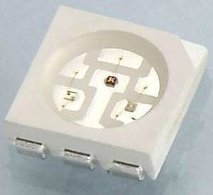 5 pezzi Anodo comune SMD RGB LED 5050RGB