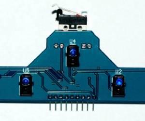Rilevamento a infrarossi TCRT5000 del modulo di traccia della scheda del modulo sensore di tracciamento a 5 canali