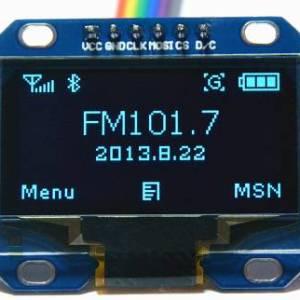 "Modulo LCD OLED 12864 comunicazione SPI da 1,3 ""a 6 pin"