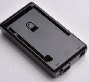 Custodia in ABS Mega2560 R3 nera per Arduino