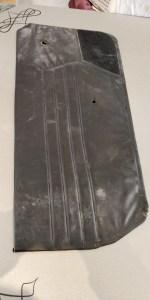 Car door panel - Before