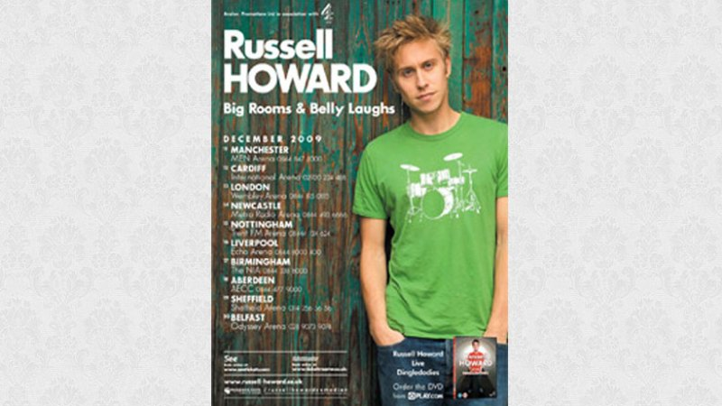Russell Howard: Big Rooms & Belly Laughs
