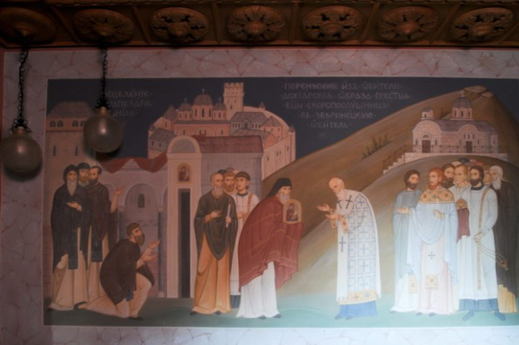 Росписи Зверинецкого пещерного монастыря