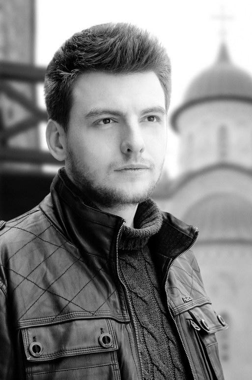 Один из авторов росписей Зверинецкого пещерного монастыря художник Дмитрий Гораш