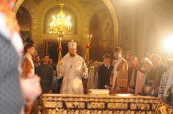 Фоторепортаж из Свято-Троицкого Ионинского монастыря о праздновании Светлого праздника Пасхи 3