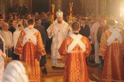 Фоторепортаж из Свято-Троицкого Ионинского монастыря о праздновании Светлого праздника Пасхи 6