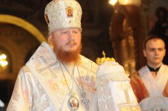 Фоторепортаж из Свято-Троицкого Ионинского монастыря о праздновании Светлого праздника Пасхи 9