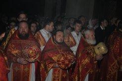 Фоторепортаж из Свято-Троицкого Ионинского монастыря о праздновании Светлого праздника Пасхи 35