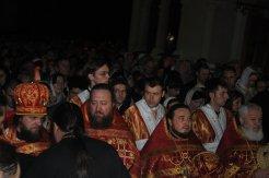 Фоторепортаж из Свято-Троицкого Ионинского монастыря о праздновании Светлого праздника Пасхи 37