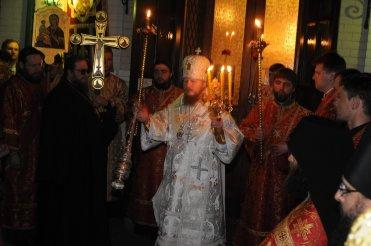 Фоторепортаж из Свято-Троицкого Ионинского монастыря о праздновании Светлого праздника Пасхи 42