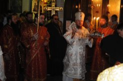 Фоторепортаж из Свято-Троицкого Ионинского монастыря о праздновании Светлого праздника Пасхи 44