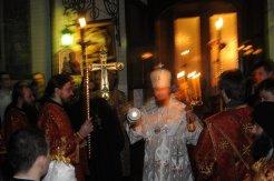 Фоторепортаж из Свято-Троицкого Ионинского монастыря о праздновании Светлого праздника Пасхи 48