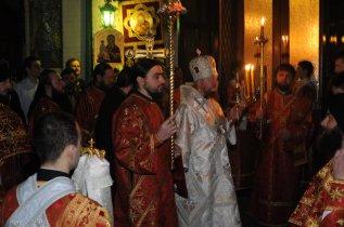 Фоторепортаж из Свято-Троицкого Ионинского монастыря о праздновании Светлого праздника Пасхи 49