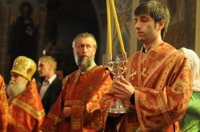 Фоторепортаж из Свято-Троицкого Ионинского монастыря о праздновании Светлого праздника Пасхи 61
